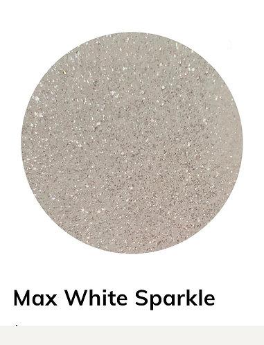 Max White Sparkle Powder, 40g Colour Passion
