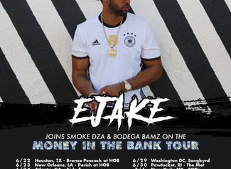 E JAKE JOINS MONEY IN THE BANK TOUR