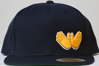 Navy W.R.M (Golden Glove Edition) Snapback