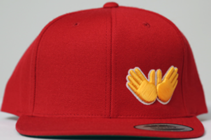 Red W.R.M (Golden Glove Edition) Snapback