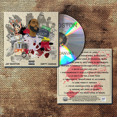 DIRTY CANVAS HARDCOPY CD