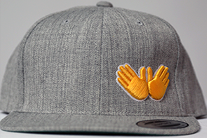 Gray W.R.M (Golden Glove Edition) Snapback
