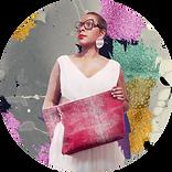 Mlle Aelle créatrice de sacs Martinique
