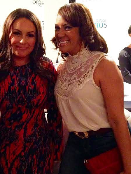 With Angie Martinez at the Orgullosa event in NYC