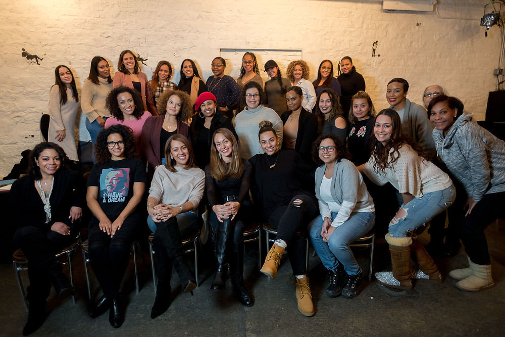 Manifest the Vision 2018 Workshop, Mott Haven Bar, Bronx, NY Jan. 7, 2018