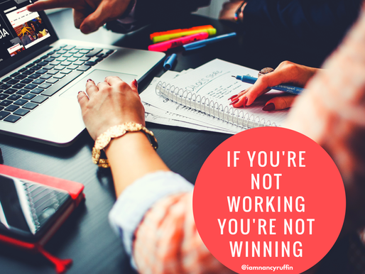 WORK! The Other Nasty 4 Letter Word and Why It's The Key To Winning