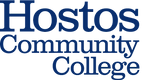 Hostos50 Primary Logo_Blue294 Orange144