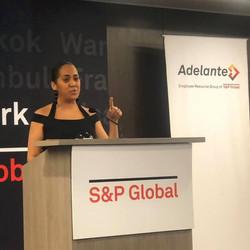 Nancy Delivers 2019 Keynote @ S&P Global