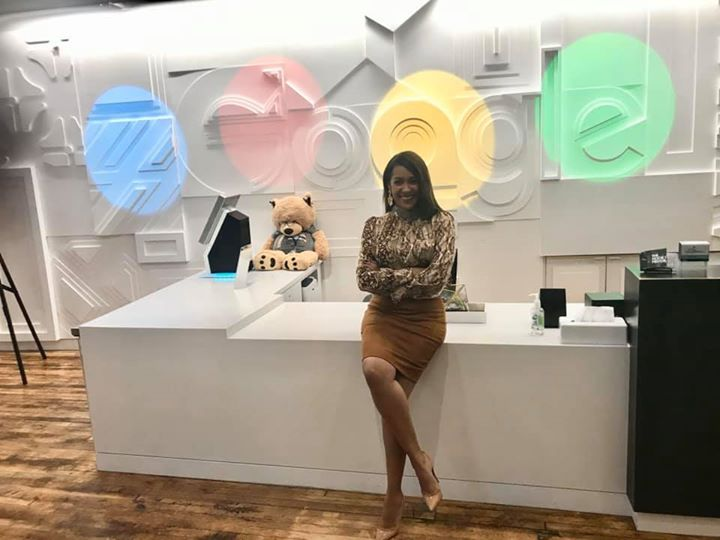 Nancy at the Google NYC Offices for the