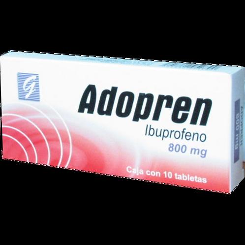 ADOPREN TABLETAS  800MG C/10