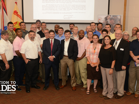 Transition To Trades Receives Congressional Recognition