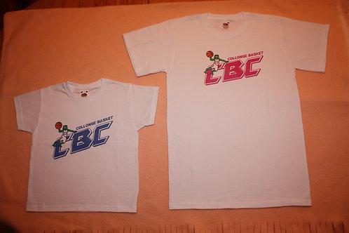 Tee-shirt CBC rose XS à XL