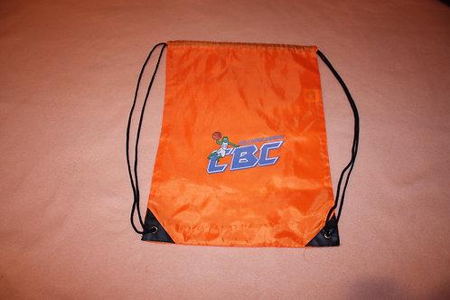 Sac à dos CBC orange avec cordelettes
