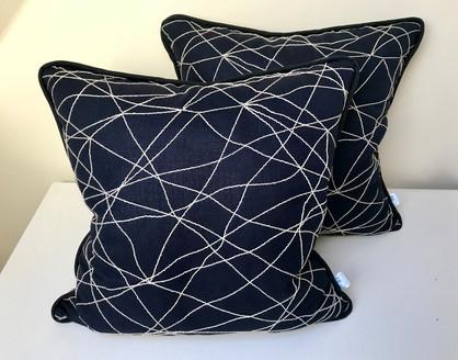 Bespoke Piped Cushions