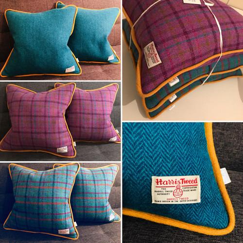 Bespoke Harris Tweed Cushions
