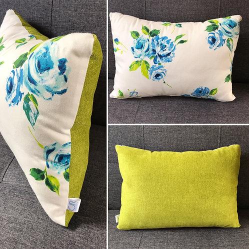 Floral - Chartreuse - Oblong
