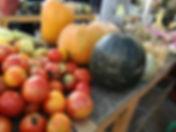 varazdn green market, varazdin pumpkins