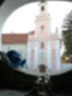 varazdin ursuline church, varazdin sights to see, varazdin artists, darwin butkovic atelier