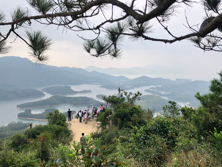 One of the most photographed spots in Hong Kong - Tai Lam Reservoir
