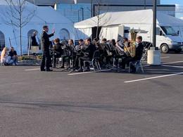 Brass Ensemble Performance at Inspira Mullica Hill