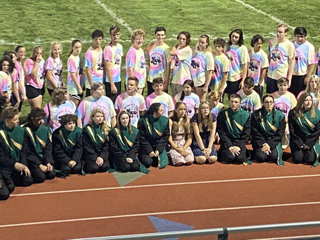 Band Night with the Clearview Marching Band