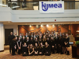 Wind Ensemble Performs at 2018 NJMEA State Conference