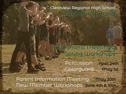 Marching Band Spring Meeting/Workshops