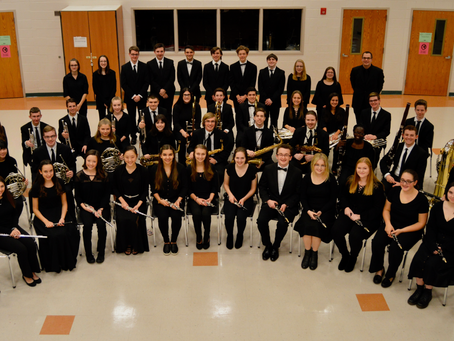 Wind Ensemble Receives High Marks at Region Band Festival