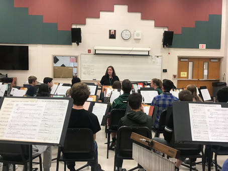 Guest Conductor Visits Clearview