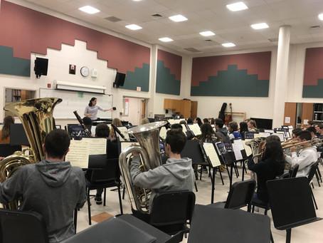 Guest Conductors Visit Clearview