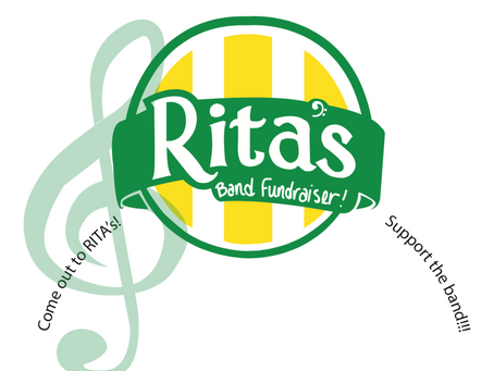 Rita's Fundraiser for the Marching Band