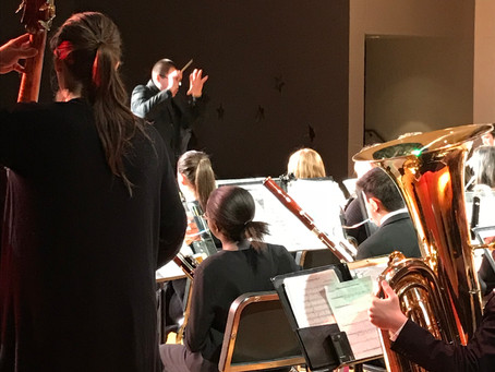 Wind Ensemble Earns Top Honors at Region Festival