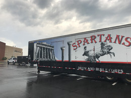 Spartans Drum and Bugle Corps Visits Clearview