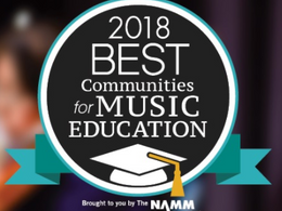 Clearview Regional High School District Named 2018 Best Community for Music Education