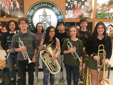 Clearview Students Make All-Region Ensembles