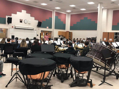 Temple Conductor Visits Clearview