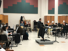 Students Make Regional Jazz Honors Bands