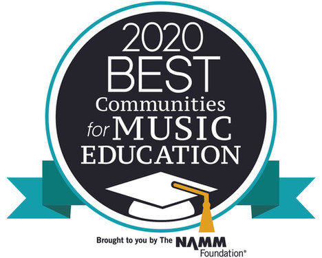 Clearview Regional High School District Named National Best Community for Music Education