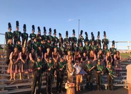Marching Band Finishes Competitive Season