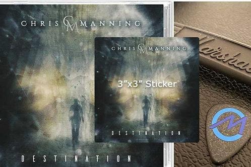 """Destination"" CD Bundle: Includes CD, sticker, & guitar pick"