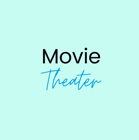 You are steps away from a movie theater in Kent Plaza!