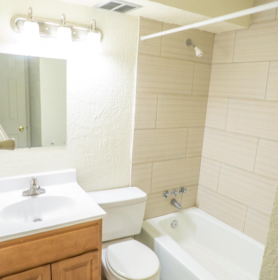 Upgraded Studio Bathroom
