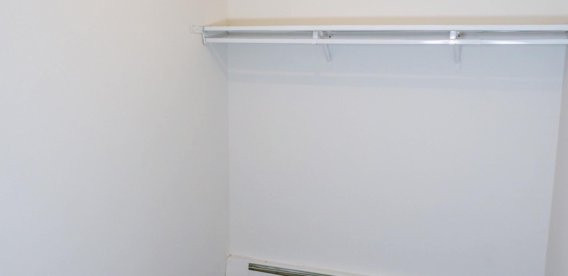 Deluxe Studio Walk-in Closet