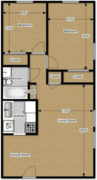 Apartment Floor Plan