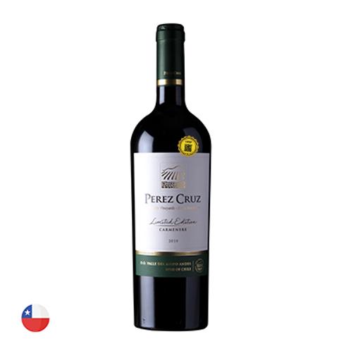 Vinho Perez Cruz Carmenere Limited Edition