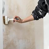 schilderwerken, wandbekleding/vloerbekleding, decoratietechnieken: beton-ciré, kalk, kalei, Mortex en ornamentiek
