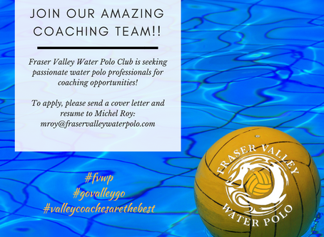 Join Head Coach Michel Roy and our Amazing Coaching Team!