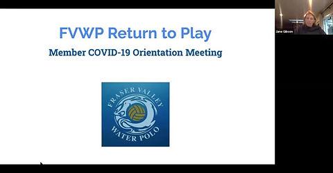 FVWP Member Orientation September 2020