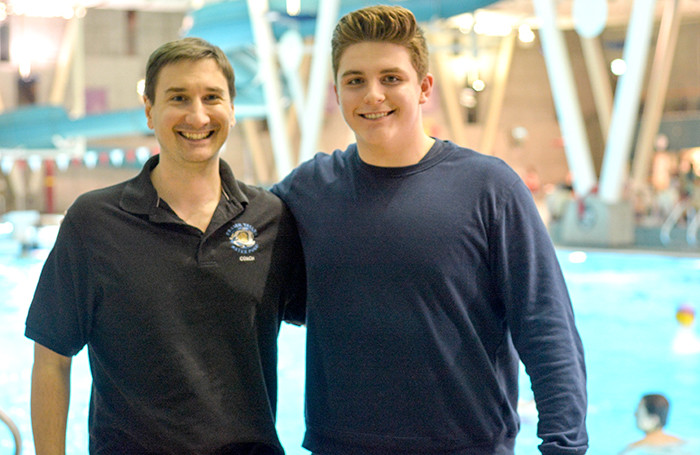 Kevin Mitchell is Martel's current coach with Fraser Valley Water Polo Club
