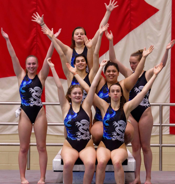 U16 Girls: gold medal winners